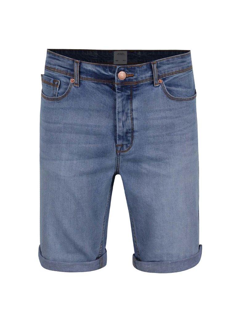 Pantaloni scurti bleu  Burton Menswear London din denim