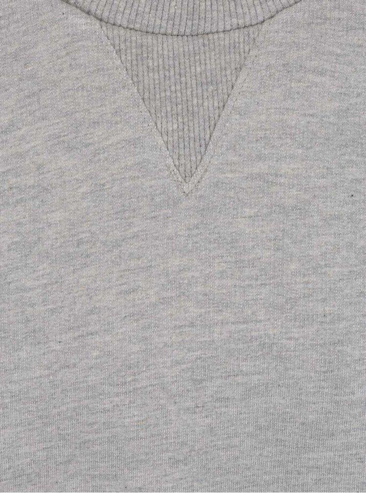 Bluză gri Burton Menswear London cu terminații elastice