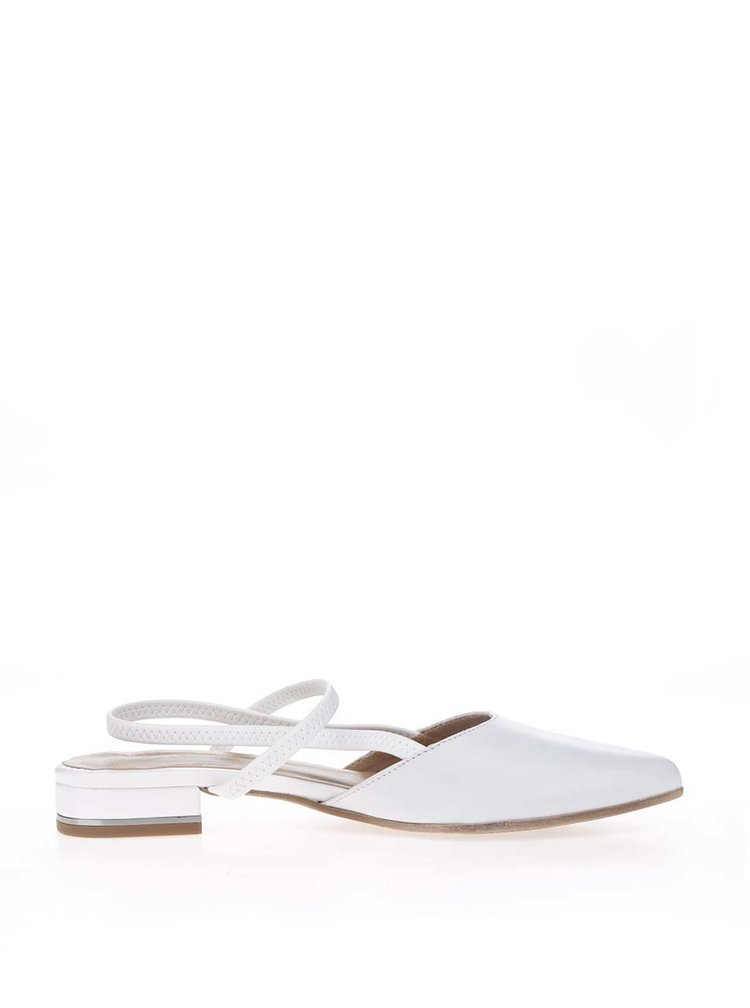 Pantofi slingback crem Tamaris din piele