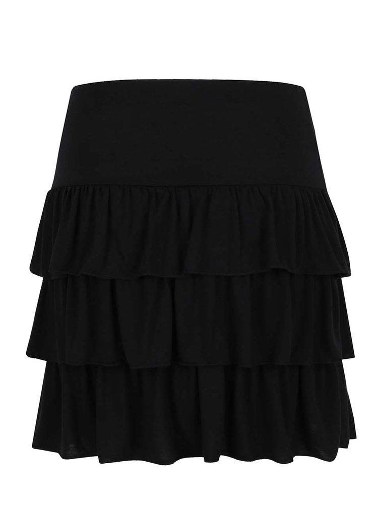 Černá sukně s volány Jacqueline de Yong Tijuana