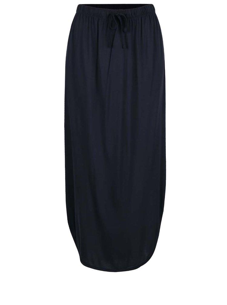 Tmavě modrá maxi sukně Jacqueline de Yong Safe