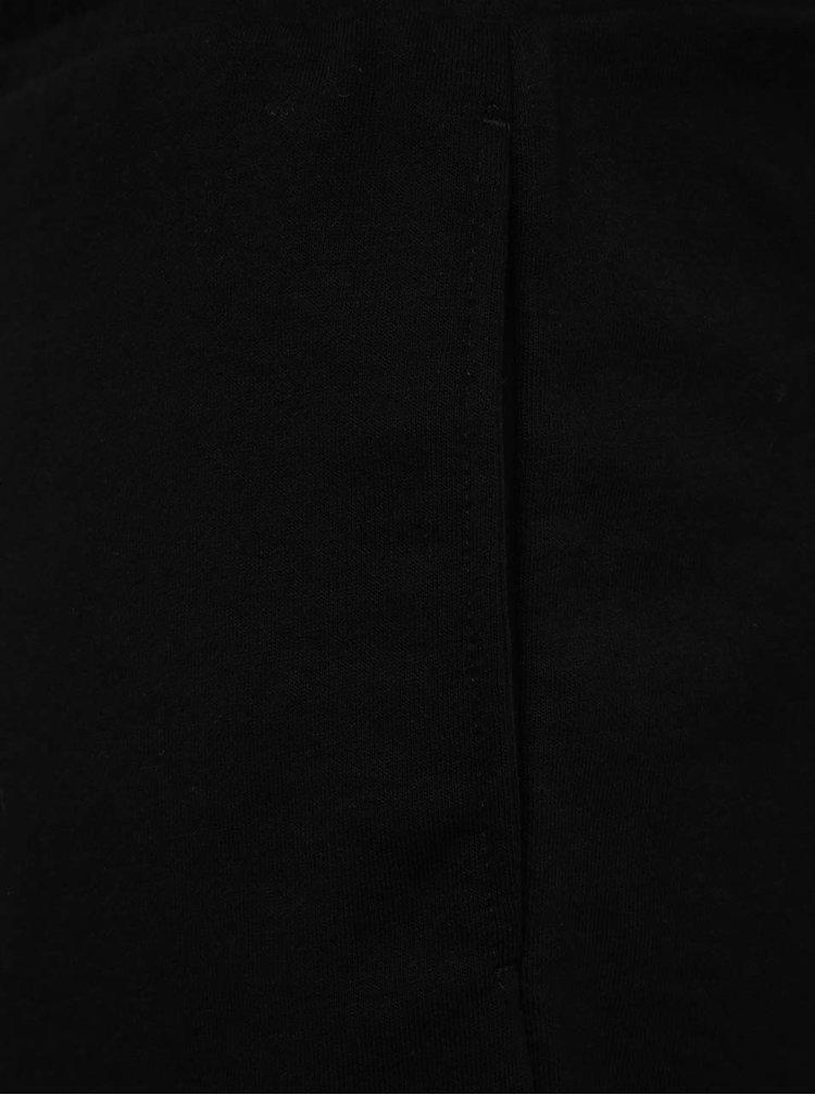 Pantaloni scurți negri Jack & Jones Speed cu buzunare