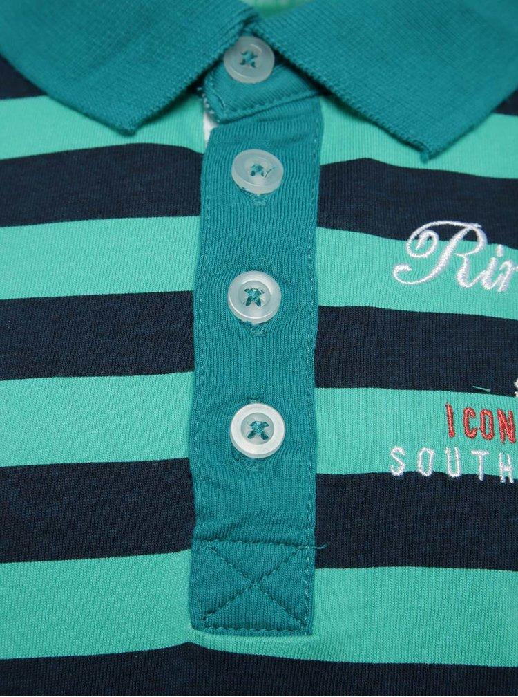 Modro-zelené klučičí polo tričko name it Kenan