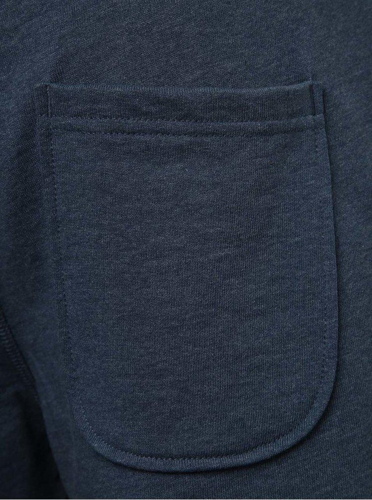 Modré teplákové kraťasy Jack & Jones Holting