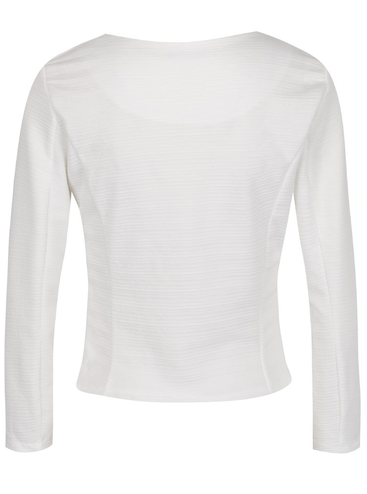 Bílé sako se zipem Haily's Sara