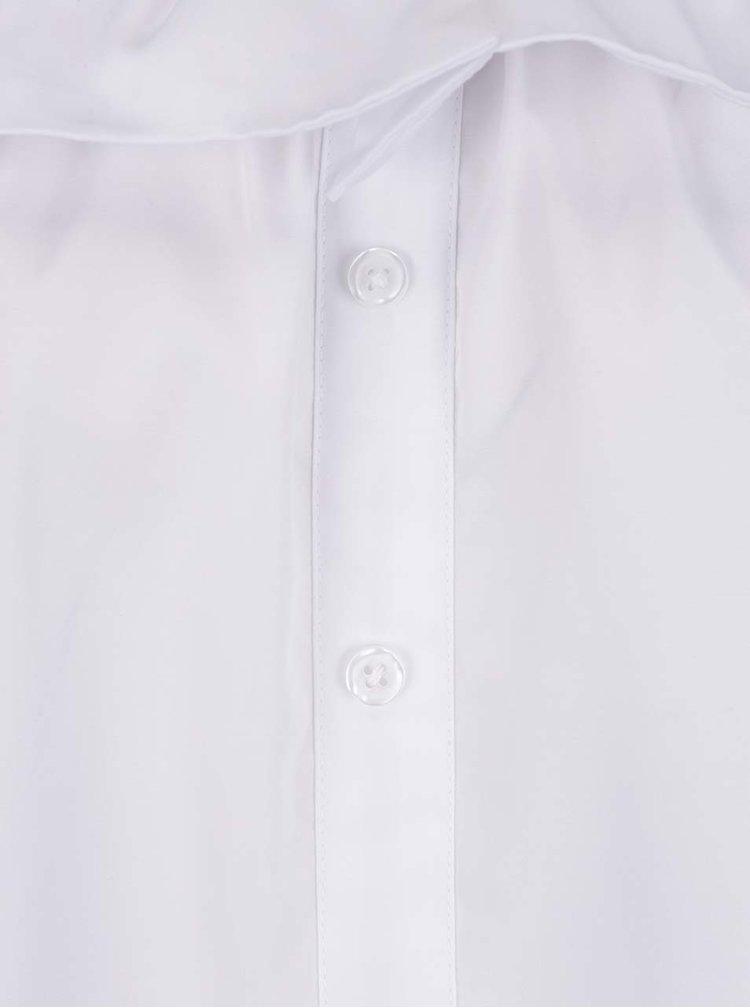 Bílá halenka se odhalenými rameny Haily's Kayla