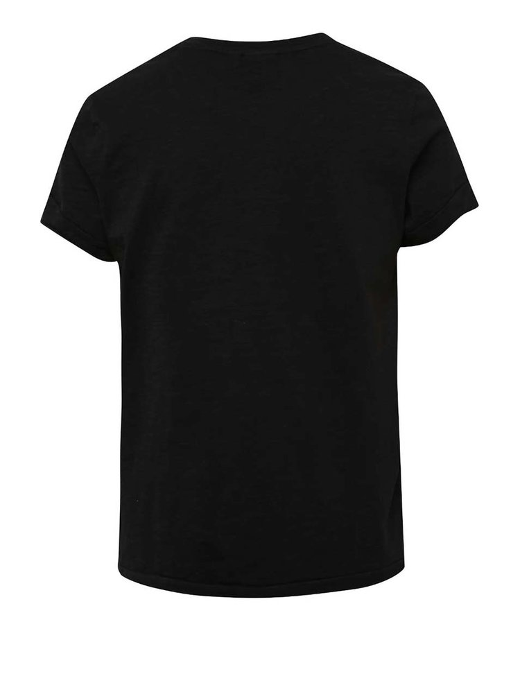Černé klučičí triko s potiskem LIMITED by name it Sinus