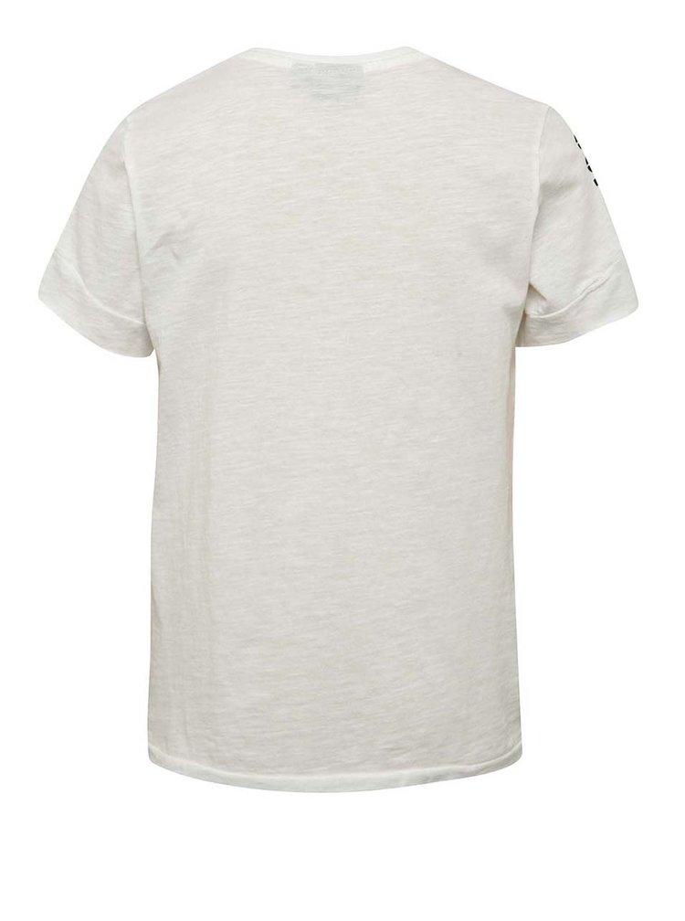 Krémové klučičí triko s potiskem LIMITED by name it Sinus