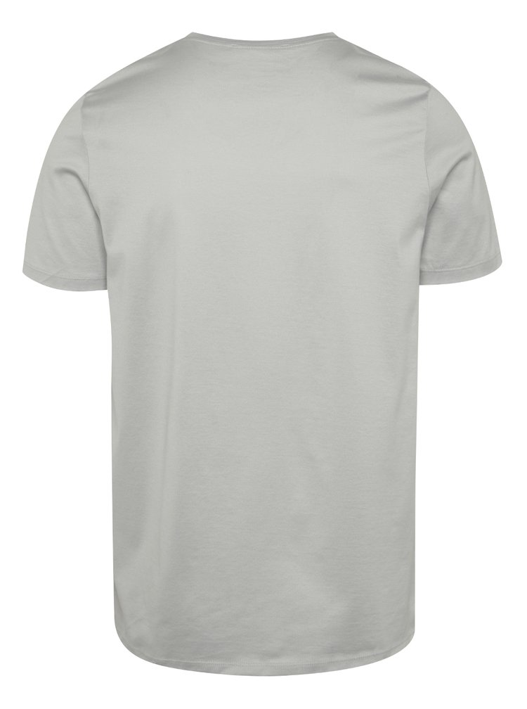 Tricou gri deschis Jack & Jones Merce din bumbac