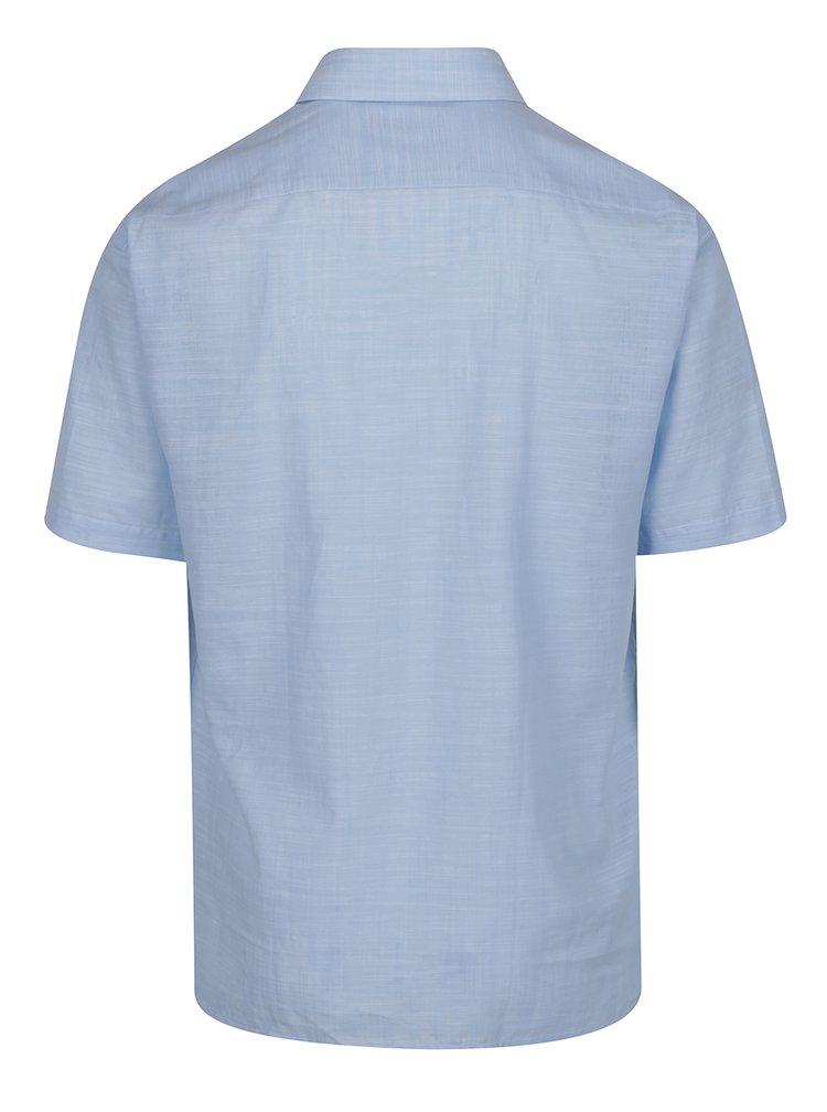 Světle modrá žíhaná košile Seven Seas