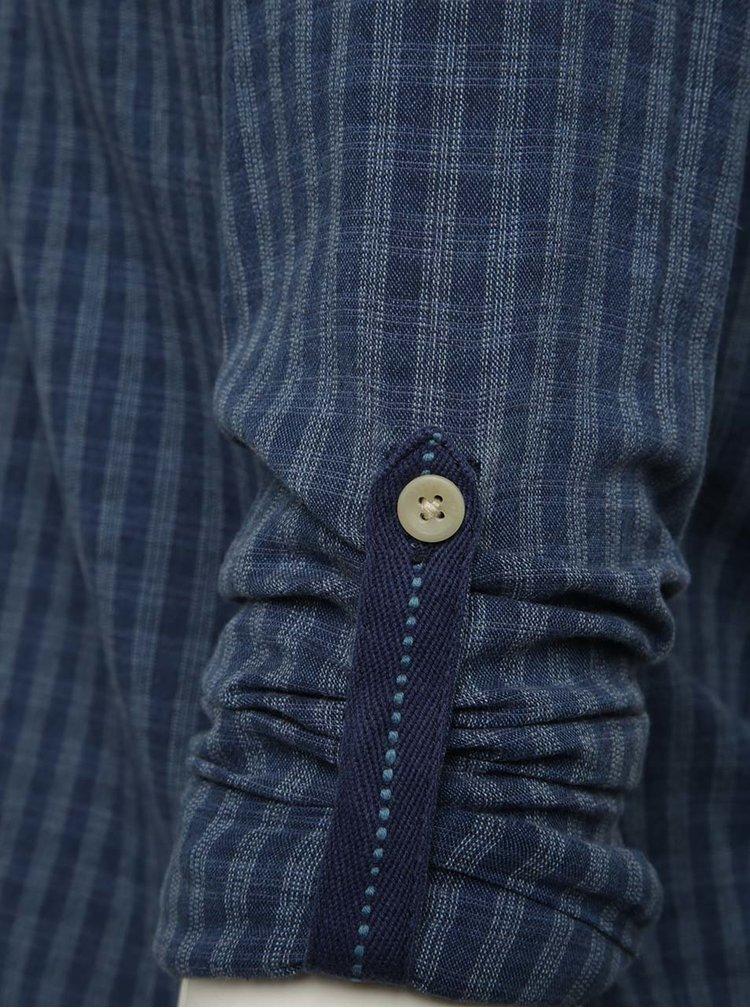 Cămașă albastră Jack & Jones Bay cu model în carouri