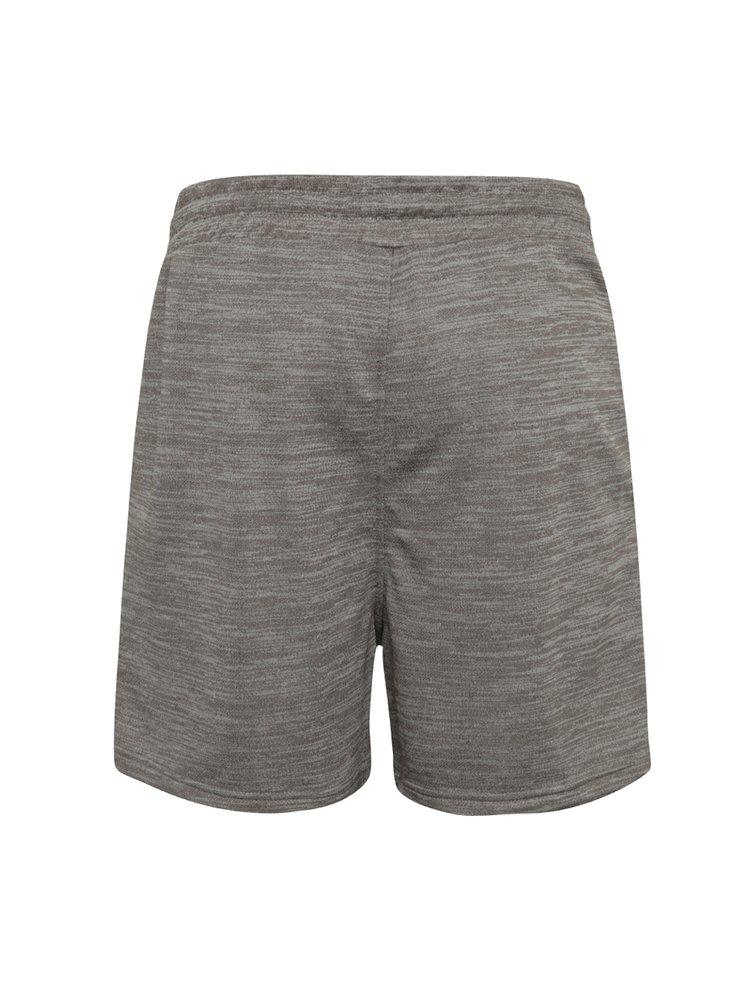 Pantaloni scurți gri melanj Jack & Jones Speed cu buzunare