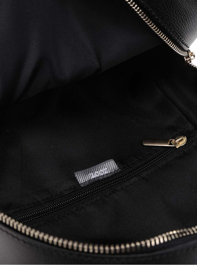 Rucsac negru ZOOT cu buzunar exterior cu fermoar