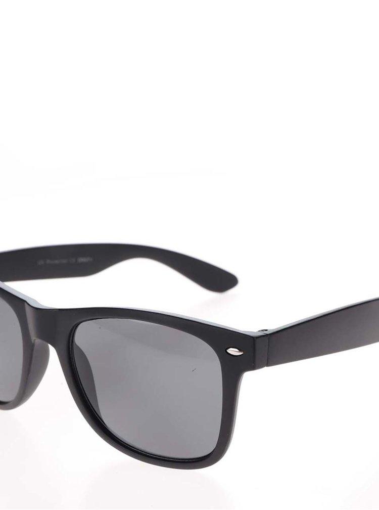 Černé matné sluneční brýle ONLY Basic