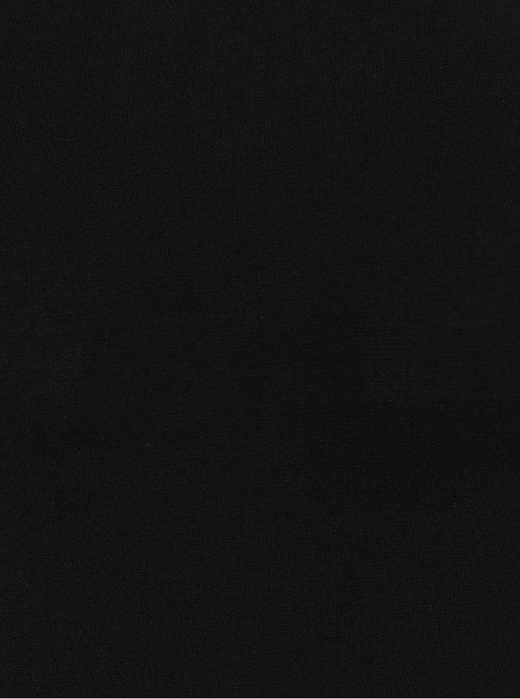 Body negru Miss Selfridge cu maneci fluture