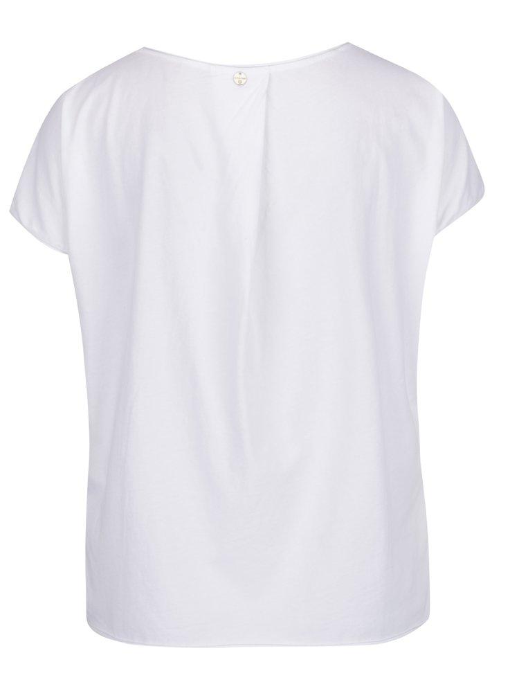 Tricou alb Rich & Royal cu imprimeu floral
