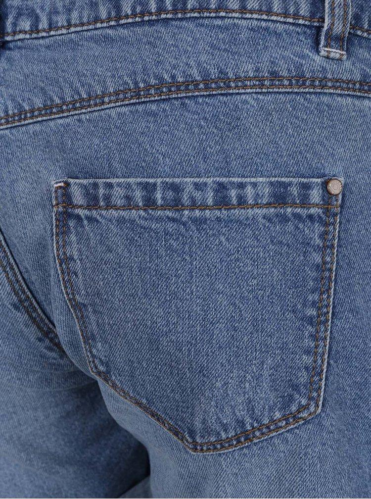 Modré džínové kraťasy s potrhaným efektem TALLY WEiJL