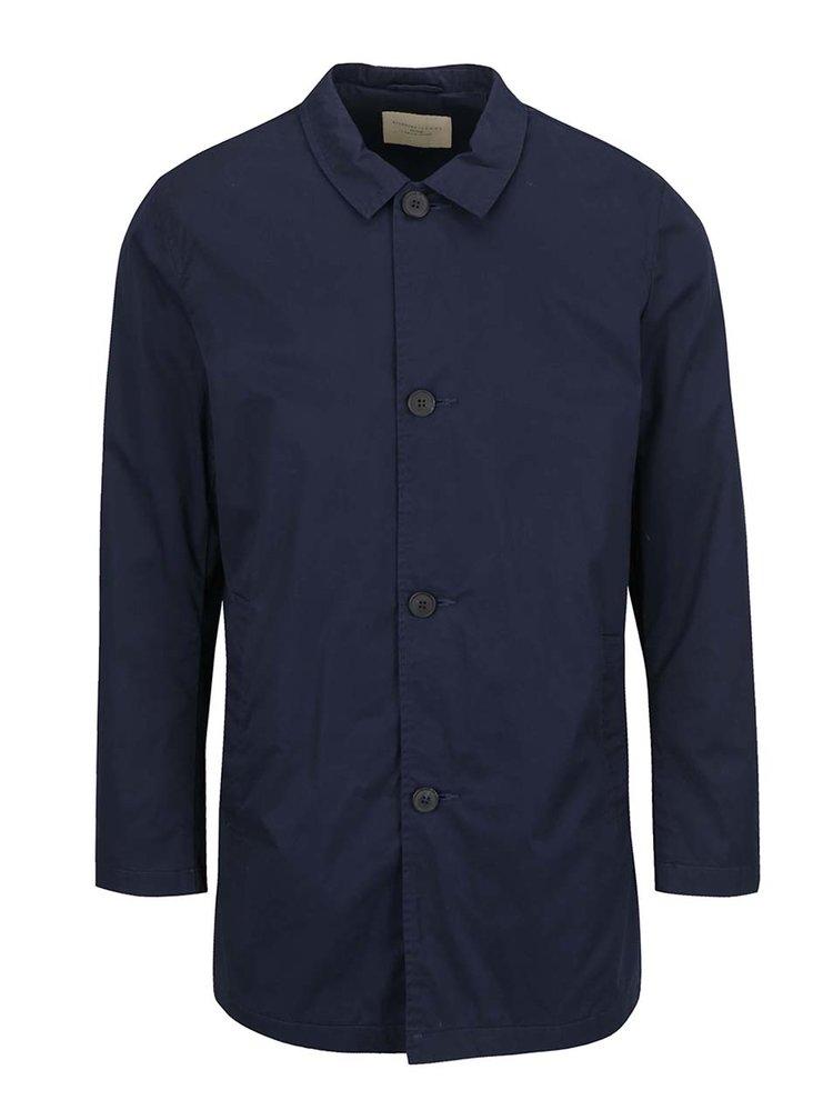 Tmavě modrý lehký kabát Selected Homme Mash