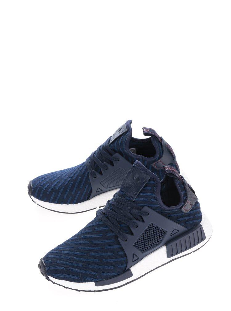 Tmavě modré pánské tenisky adidas Originals NMD_XR1 Primeknit