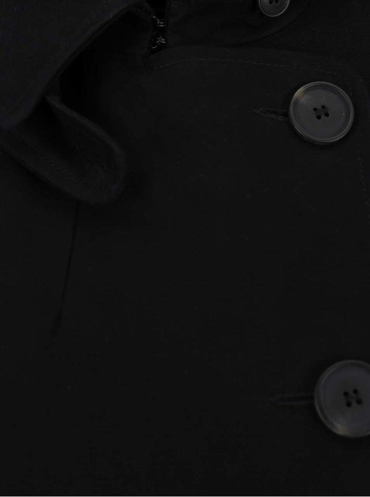 Černý kabát French Connection Freeway