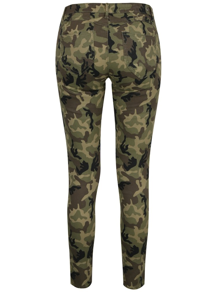 Pantaloni în nuațe de verde TALLY WEiJL din denim