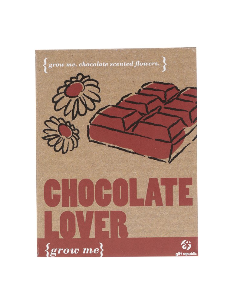 Súprava na vypestovanie čokolády Gift Republic Grow me
