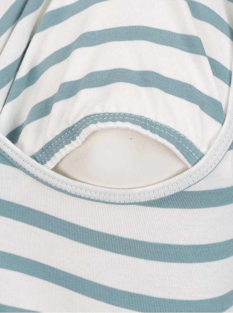 Sada dvou modrých těhotenských/kojicích triček Mama.licious Lea