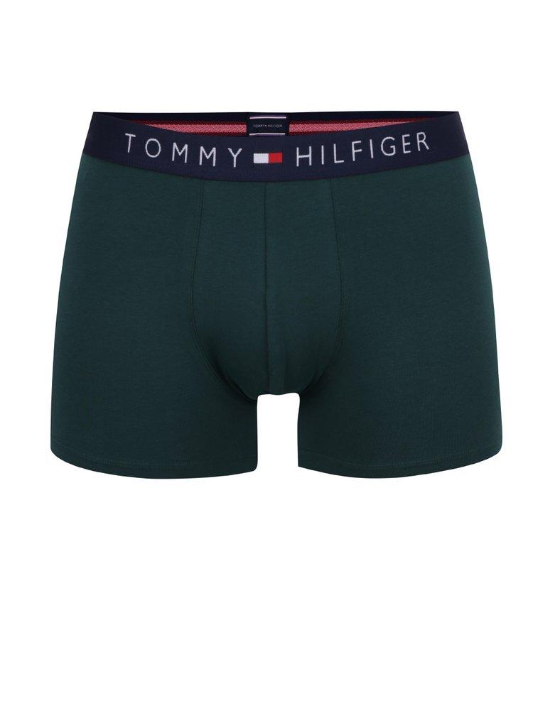 Sada tří boxerek ve vínové, modré a zelené barvě Tommy Hilfiger