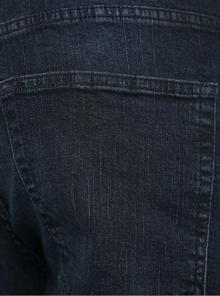 Tmavě modré slim fit džíny Blend