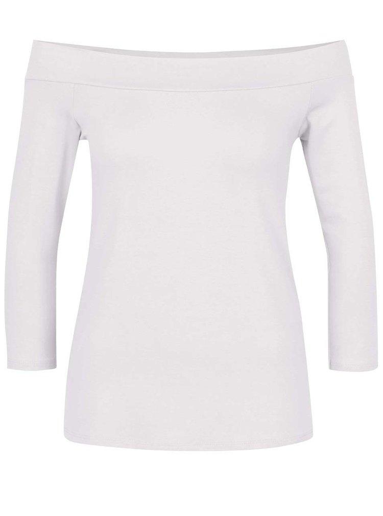 Biele tričko s odhalenými ramenami ZOOT