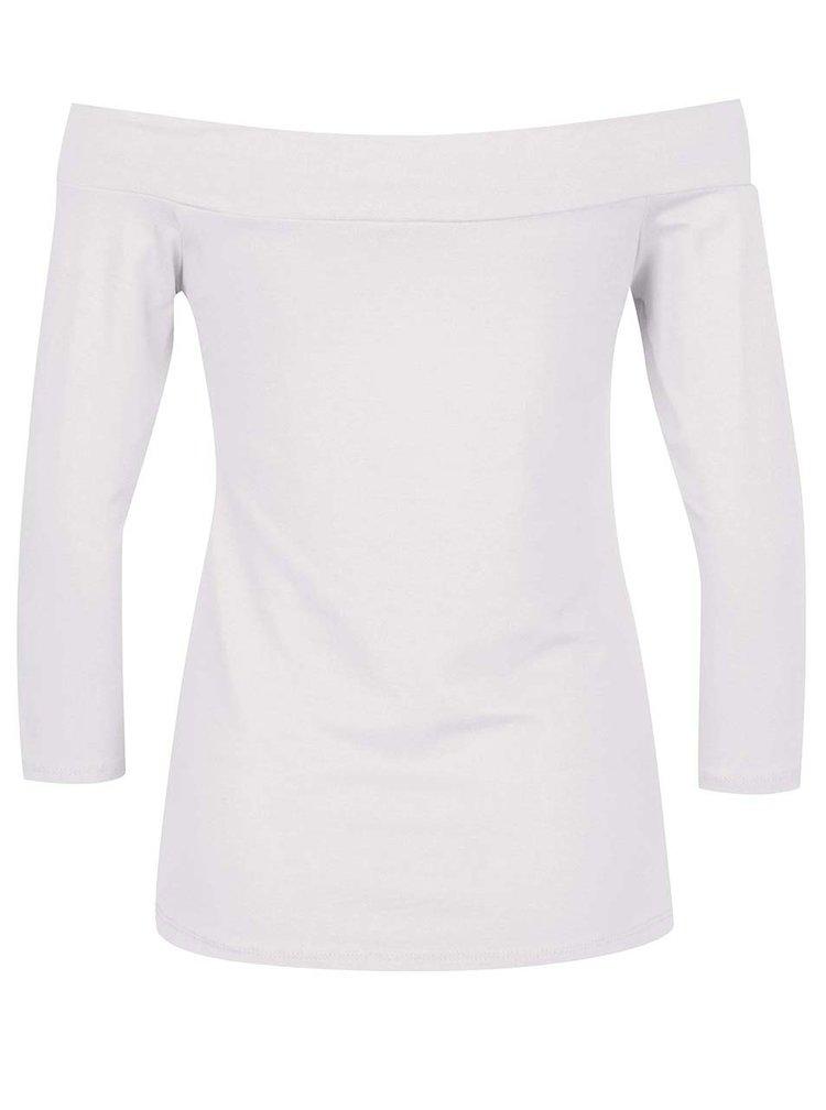 Bílé tričko s odhalenými rameny ZOOT