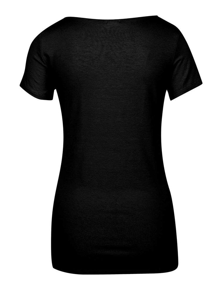 Tricou basic negru ZOOT