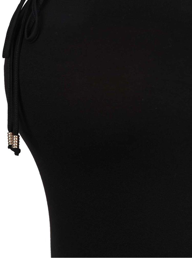 Černá maxi sukně Dorothy Perkins Maternity