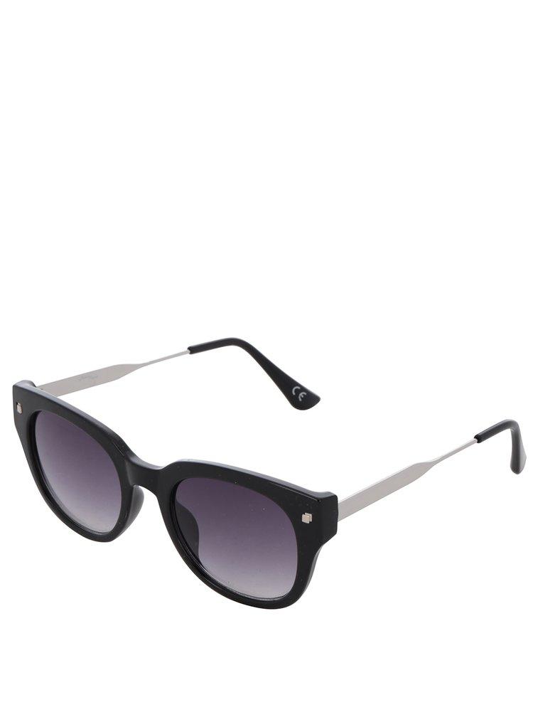 Ochelari de soare negri Jeepers Peepers cu lentile în degrade