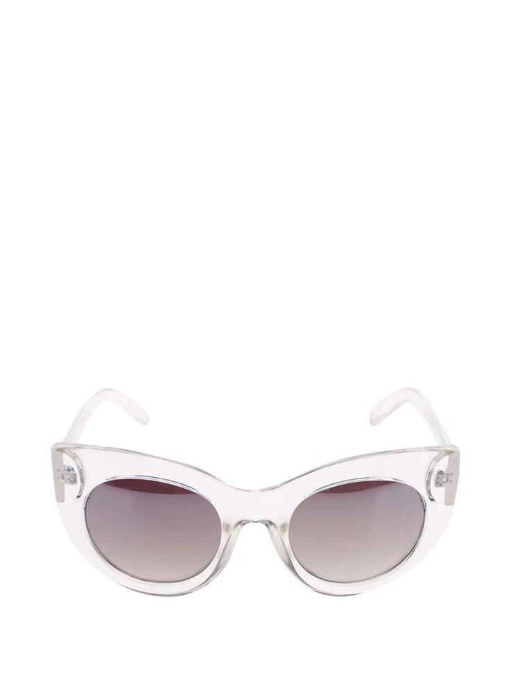 Ochelari de soare alb semitransparent Jeepers Peepers