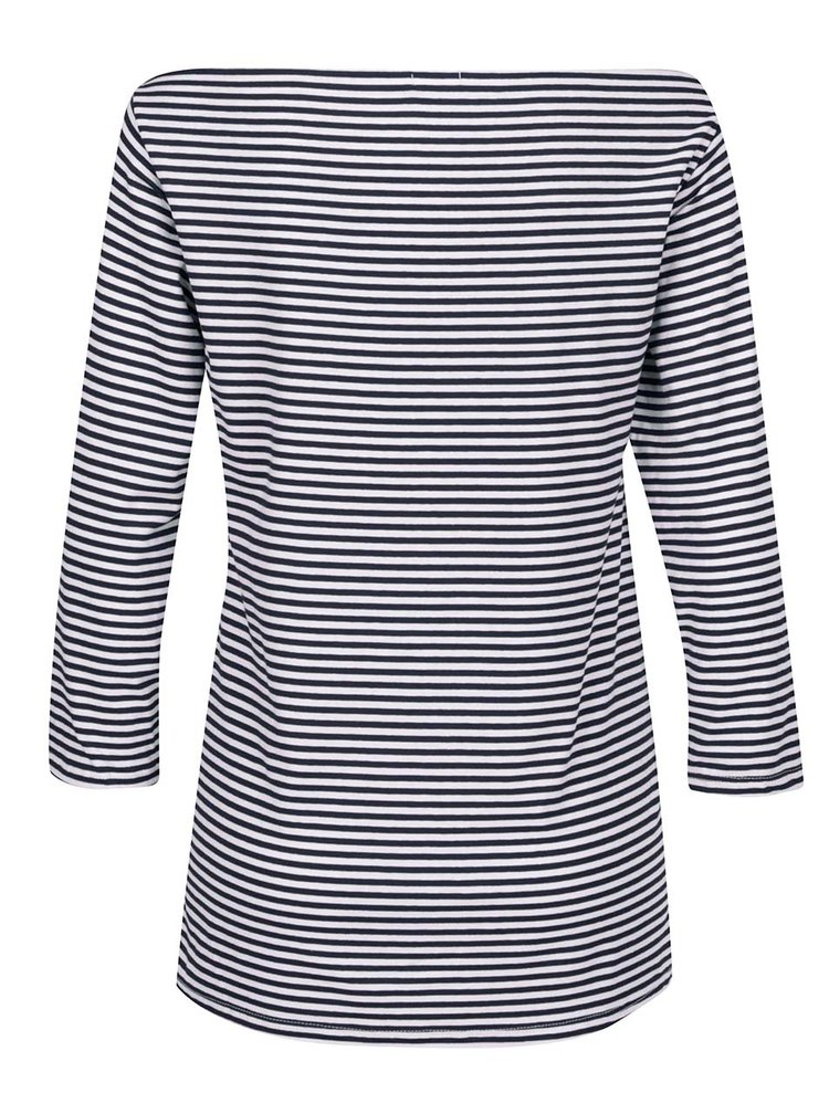 Bluză alb & albastru ZOOT cu dungi