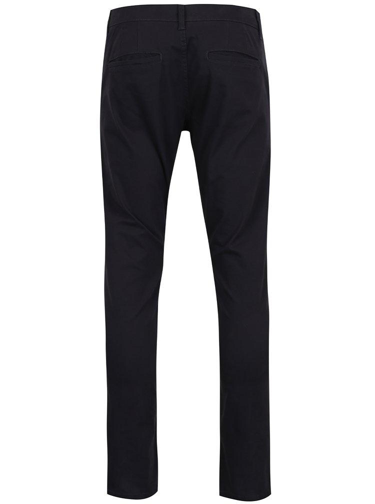 Pantaloni chino albastru închis Only & Sons Tarp cu buzunare oblice