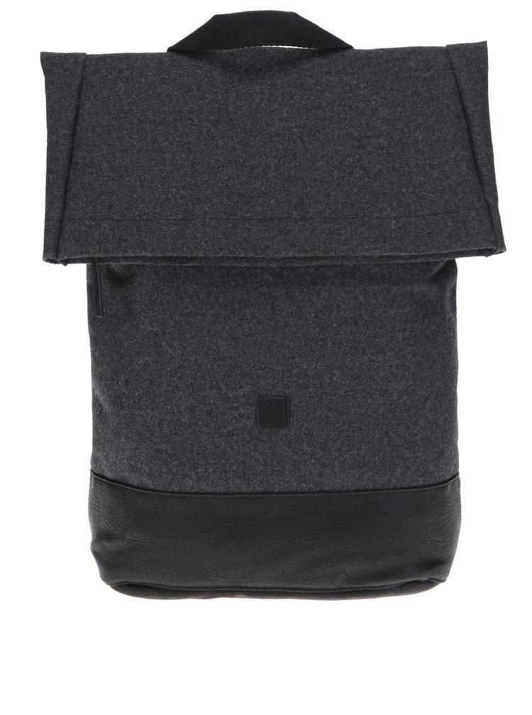 Tmavě šedý voděodolný unisex batoh Kasper Ucon 20 l