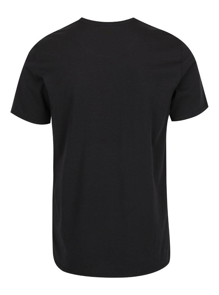Tricou negru Levi's® cu print