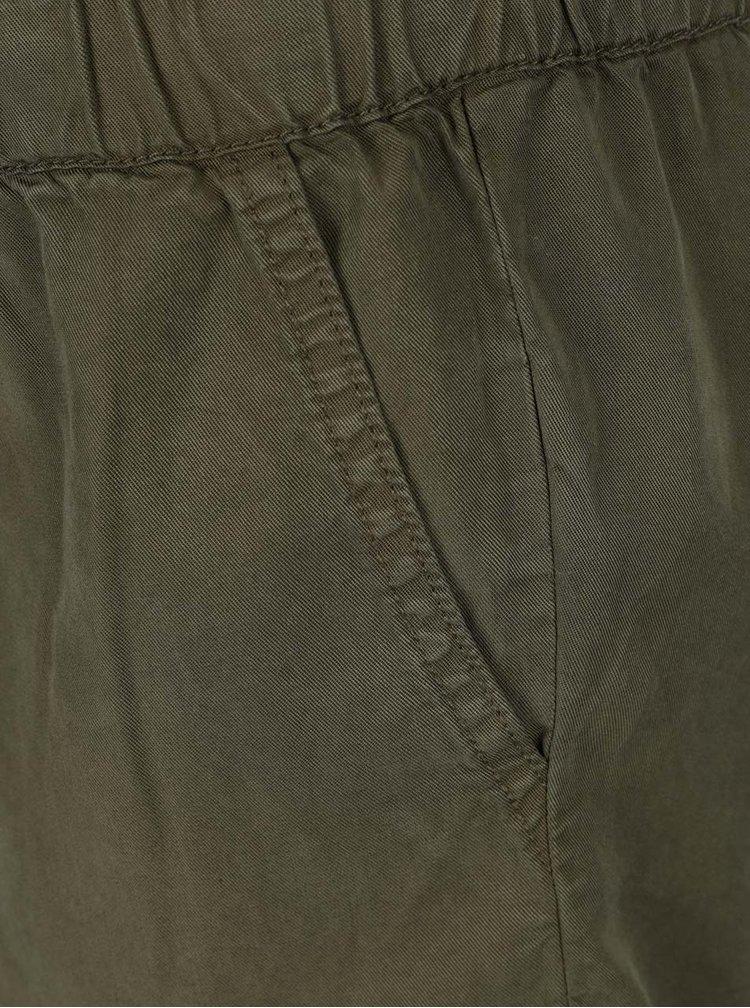Khaki krátký overal s kapsami TALLY WEiJL