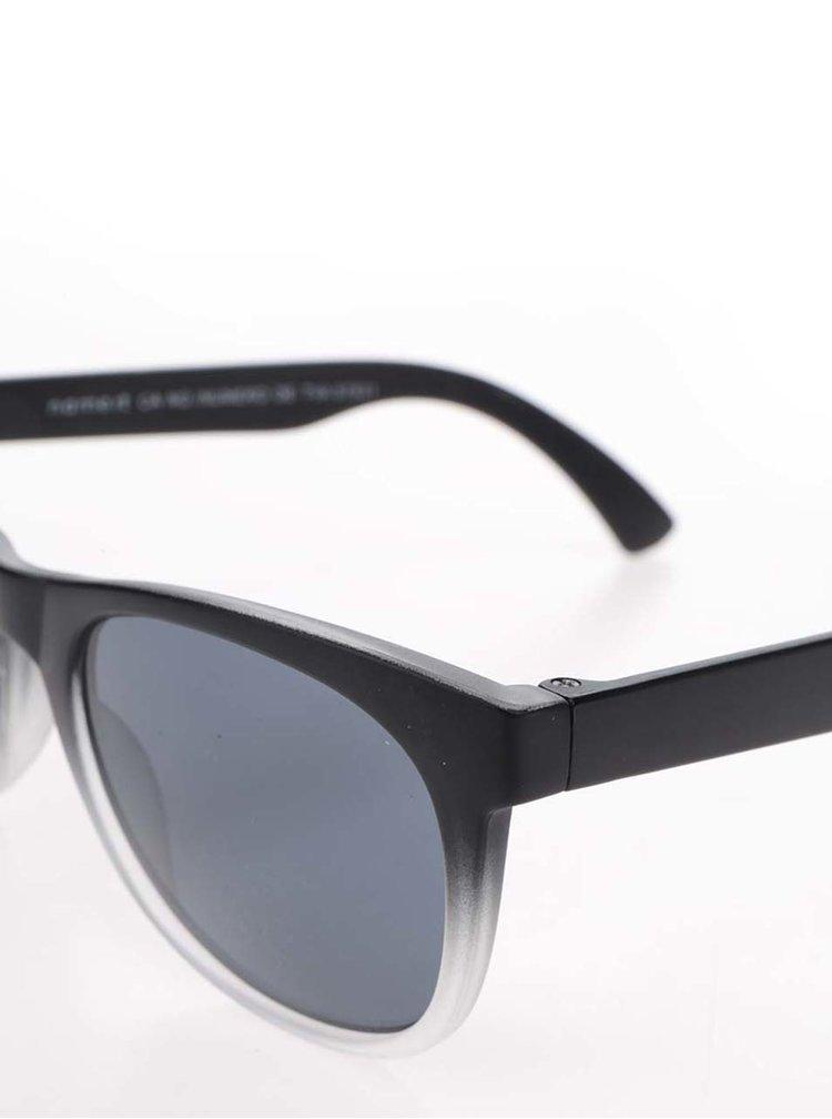 Šedo-černé klučičí sluneční brýle name it