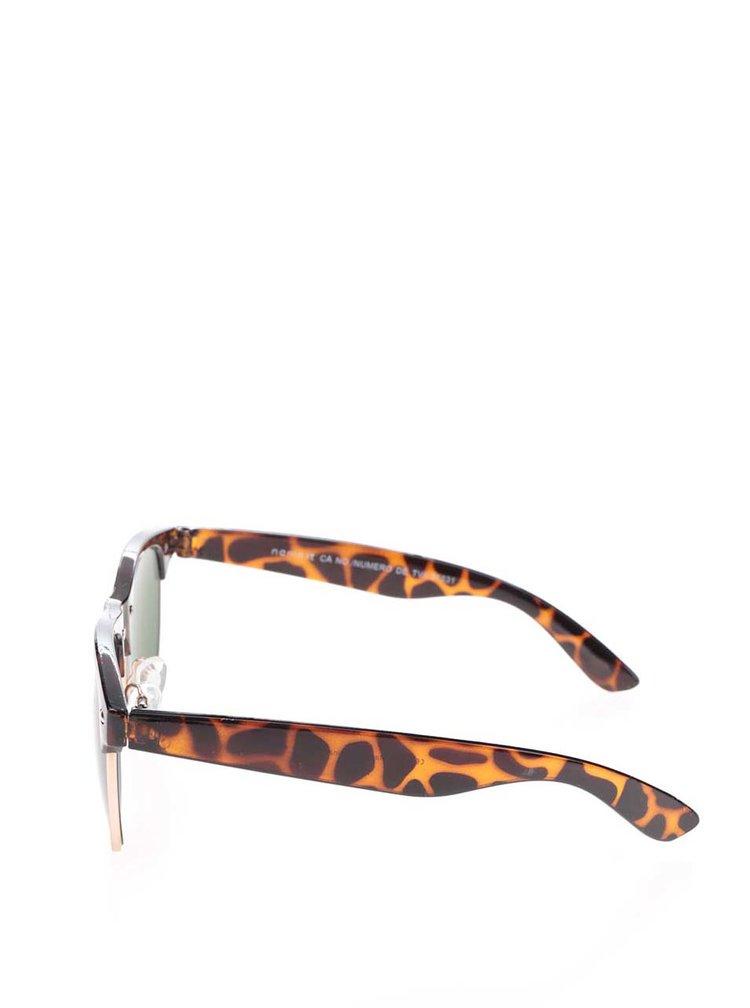 Hnědé klučičí sluneční brýle name it