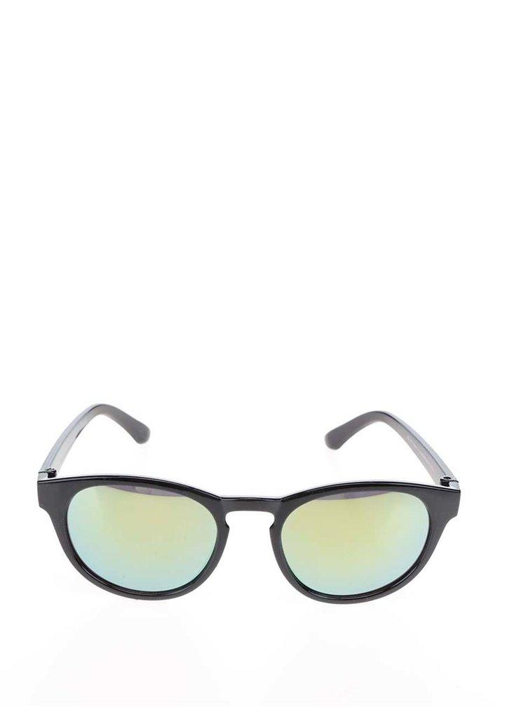Černé holčičí sluneční brýle se žlutými skly name it