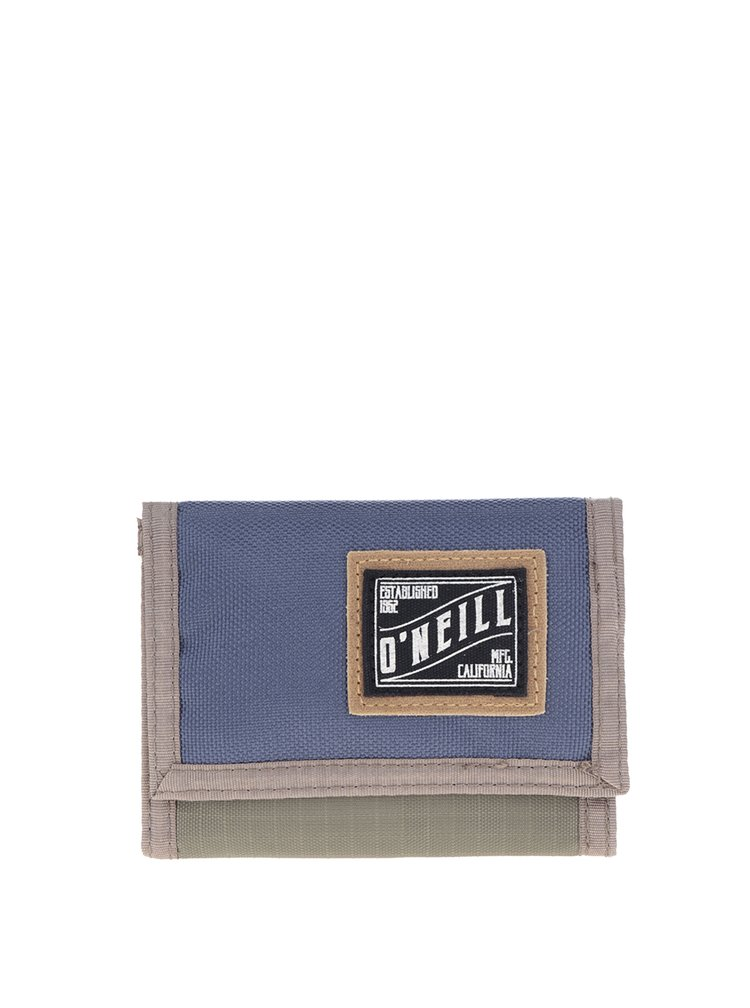 Zeleno-modrá pánská peněženka O'Neill