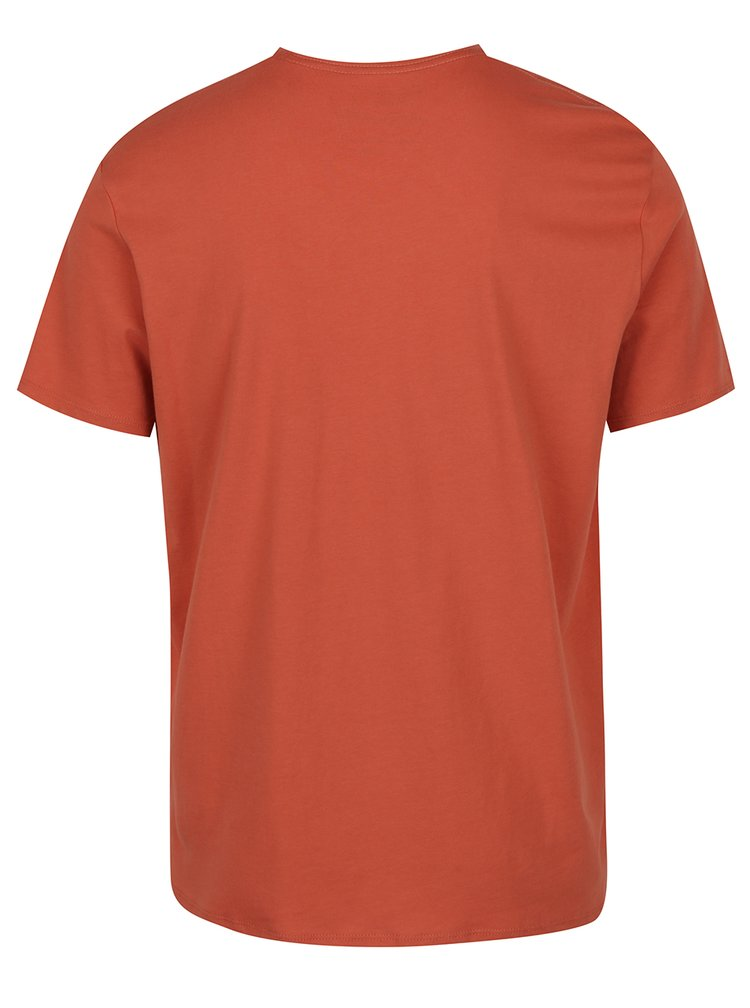 Oranžové pánské triko s potiskem O'Neill