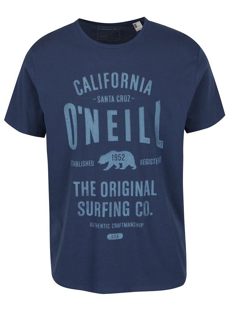 Tricou bleumarin O'Neill cu imprimeu