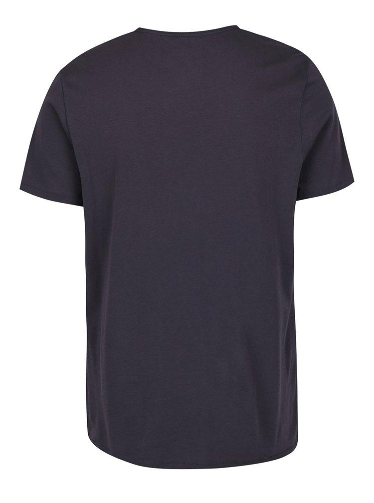 Tricou gri inchis O'Neill cu imprimeu