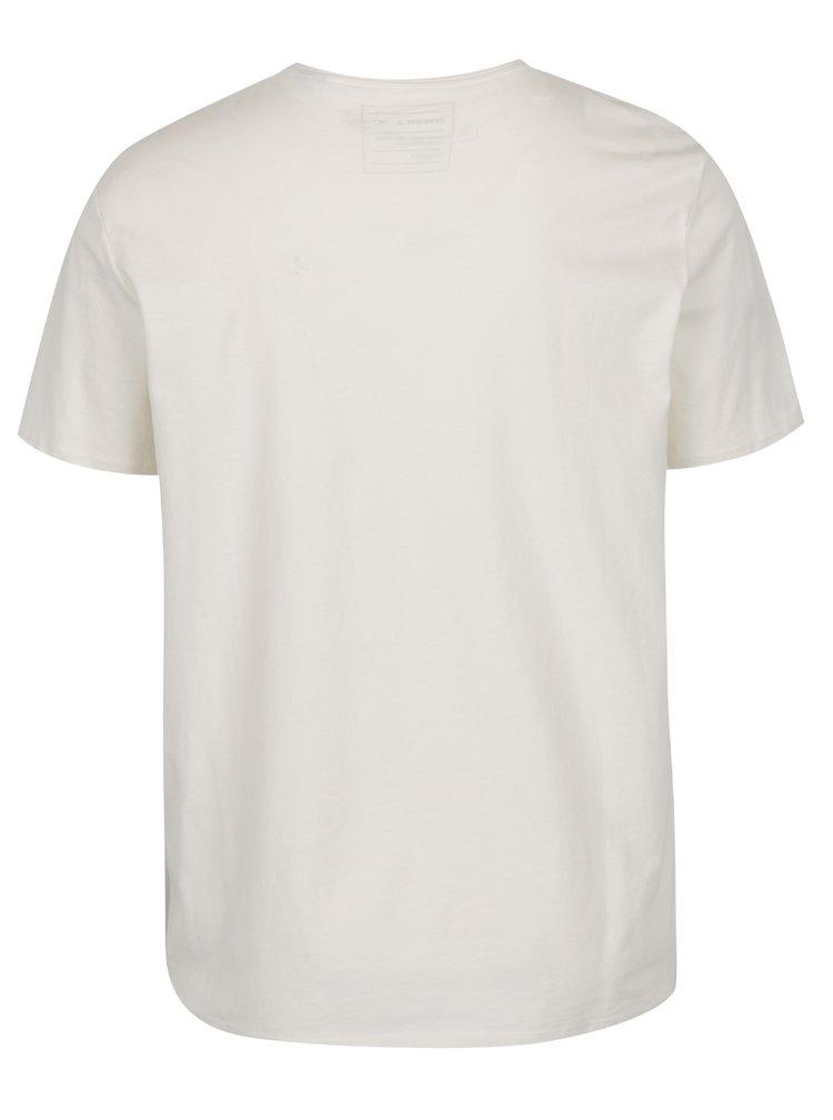 Tricou alb fildeș O'Neill cu imprimeu