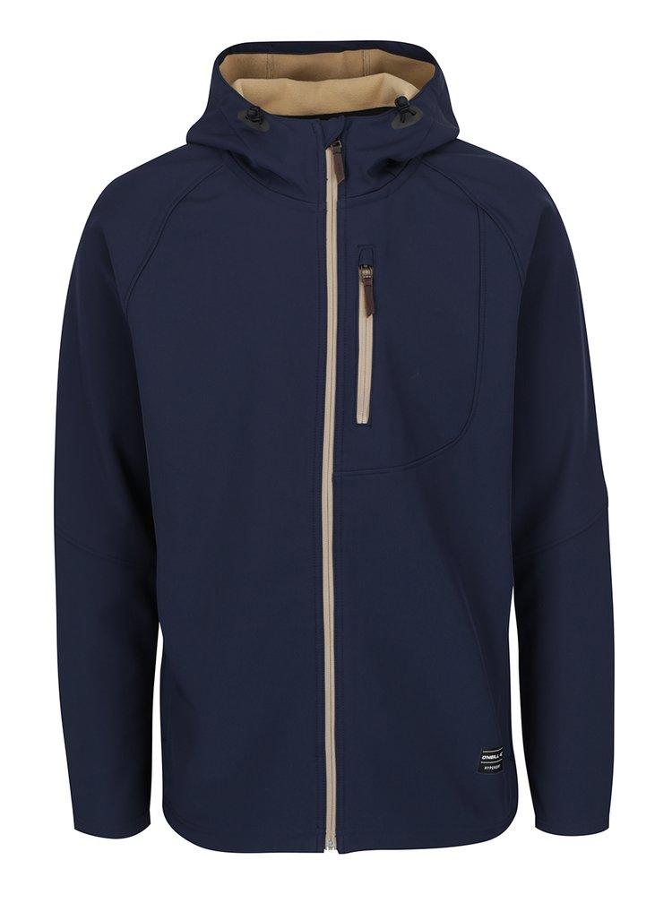 Modrá pánská bunda s kapucí O'Neill Exile