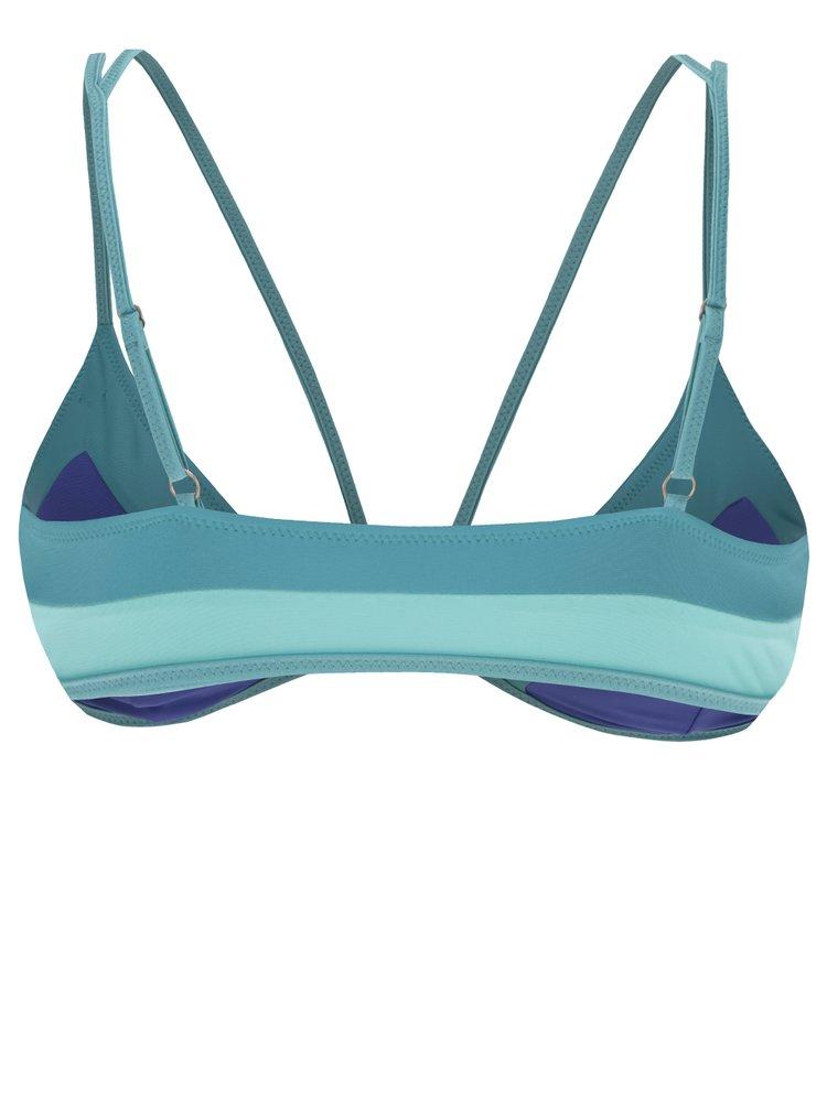 Tyrkysovo-modrý dámský horní díl plavek O'Neill